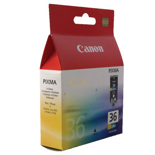 Canon CLI-36 Colour Inkjet Cartridge 1511B001