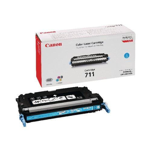 Canon 711C Cyan Toner Cartridge 1659B002AA