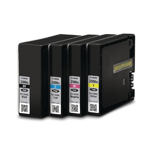 Canon PGI-2500XL CMYK High Yield Ink Cartridge Multipack - 9254B004