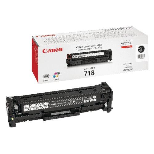 Canon 718BK Black Toner Cartridge 2662B002