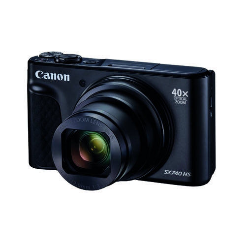 Canon Powershot SX740 Black HH Camera 2955C011AA