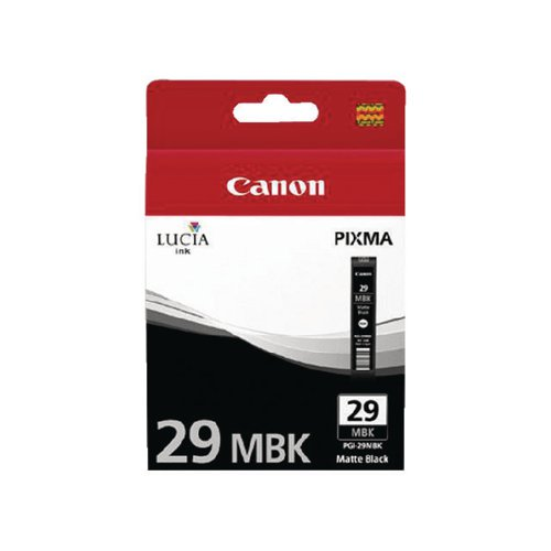 Canon PGI-29MBK Matte Black Ink Cartridge 4868B001AA