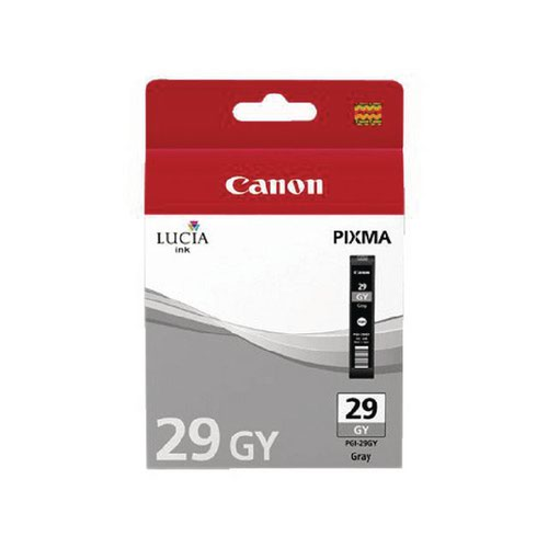 Canon PGI-29 PIXMA PRO-1 Grey Ink Cartridge 4871B001