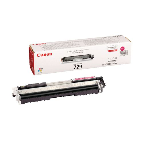 Canon 729 Magenta Toner Cartridge 4368B002AA