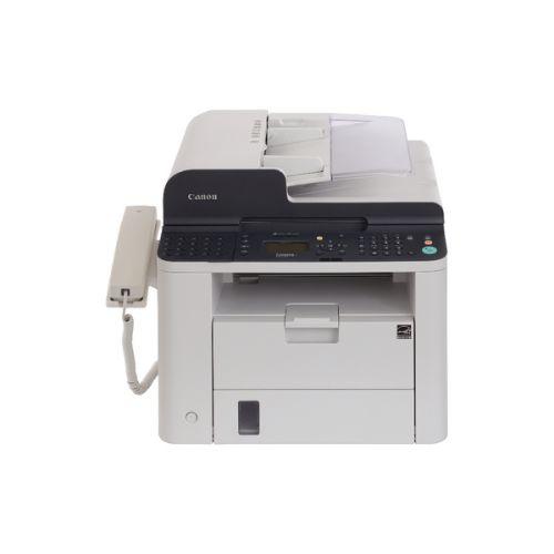 Canon i-Sensys FAX-L410 Laser Fax Machine White 6356B010