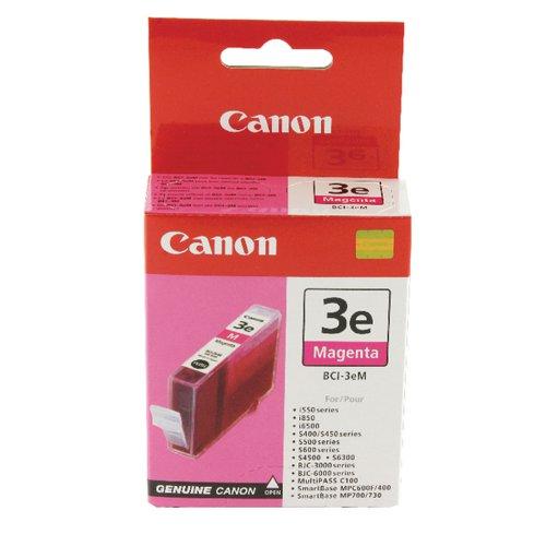 Canon BCI-3eM Magenta Inkjet Cartridge 4482A002