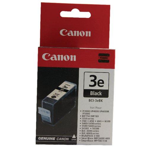 Canon BCI-3eBK Black Inkjet Cartridge 4480A002