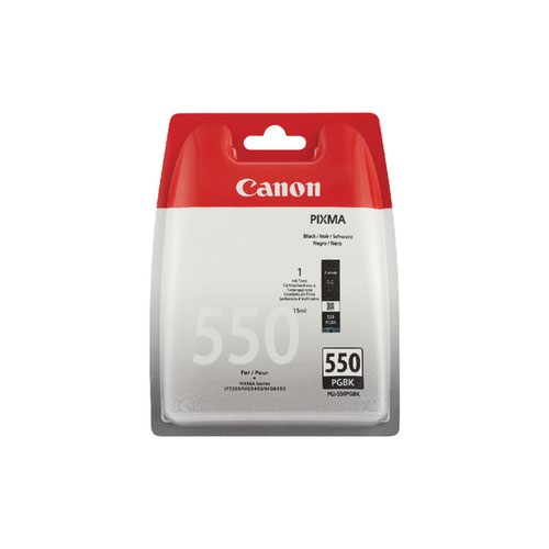 Canon PGI-550PGBK Pigment Black Ink Cartridge 6496B001