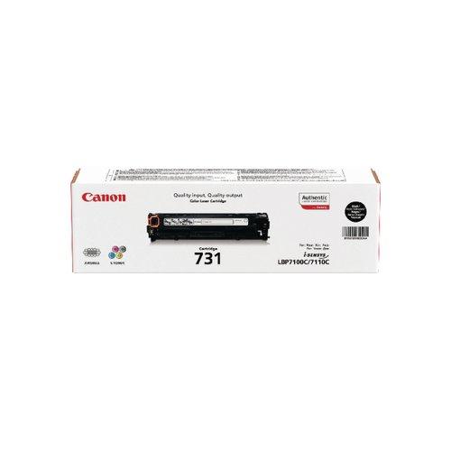 Canon 731BK Black Toner Cartridge 6272B002