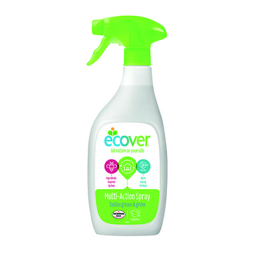Ecover Multi Surface Trigger Spray 500ml (Cuts through grease and grime) 1014166