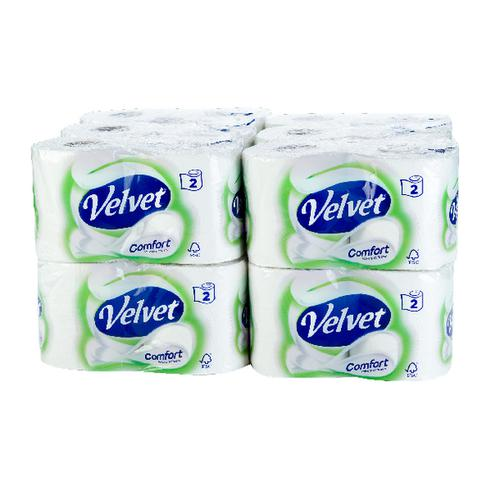 Velvet Comfort Toilet Roll (Pack of 24) 1102088