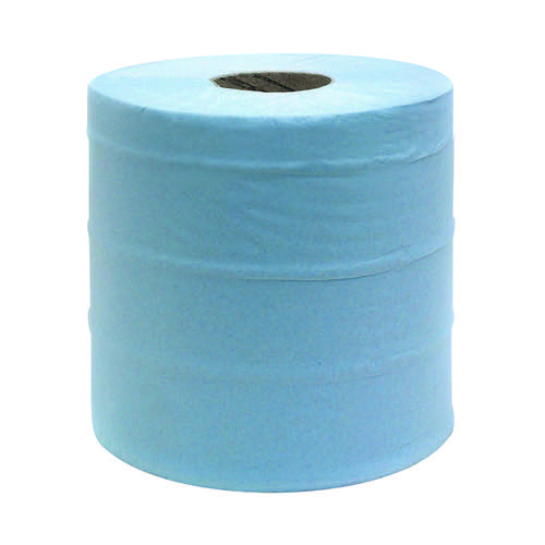 Maxima 2-Ply Blue Centrefeed Hand Wiper 150 Metres (Pack of 6) 1105093