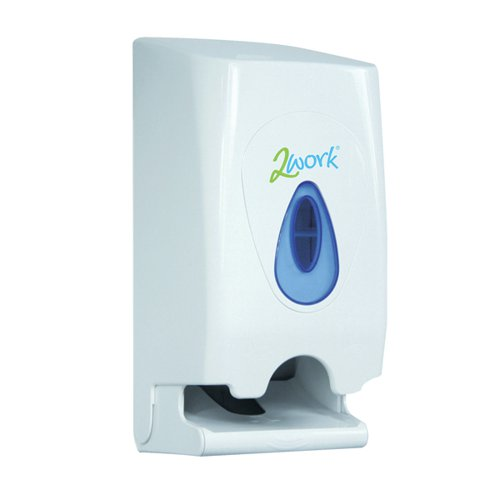 2Work Twin Toilet Roll Dispenser CPD43612 CPD43612