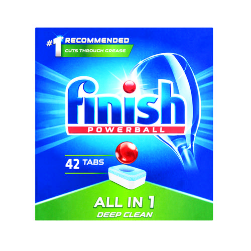 Finish All-In-One Dishwasher Tablets Regular (Pack of 42) C001437