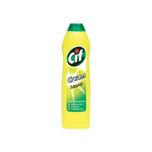Cif Cream Cleaner Lemon 500ml 1014099