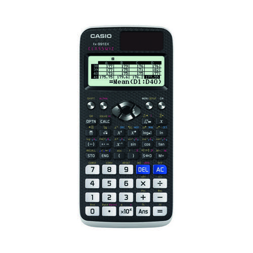 Casio Graphic Calculator (552 Functions 47 Scientific Constants) FX-991EX