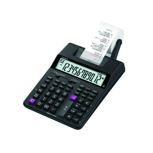 Casio HR-150RCE Printing Calculator Black HR150 RCE