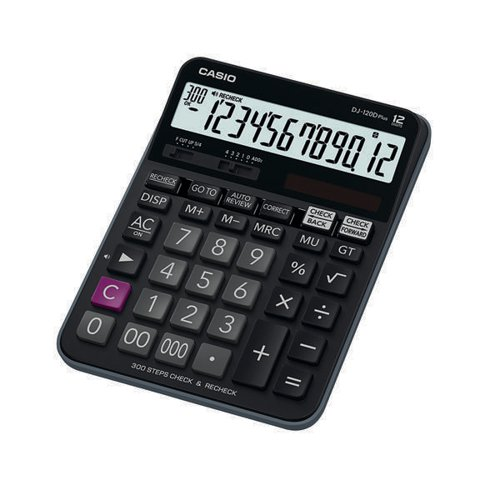 Casio Desktop Calculator DJ-120D PLUS