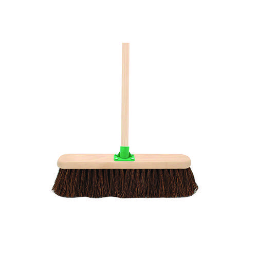 Stiff Bassine Broom with Handle 18 Inch VOW/G.12/BKT/C4