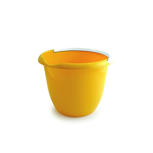 Plastic 10 Litre Bucket Yellow BUCKET.10Y