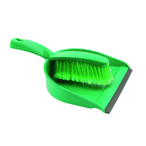 Dustpan and Brush Set Green 102940GN