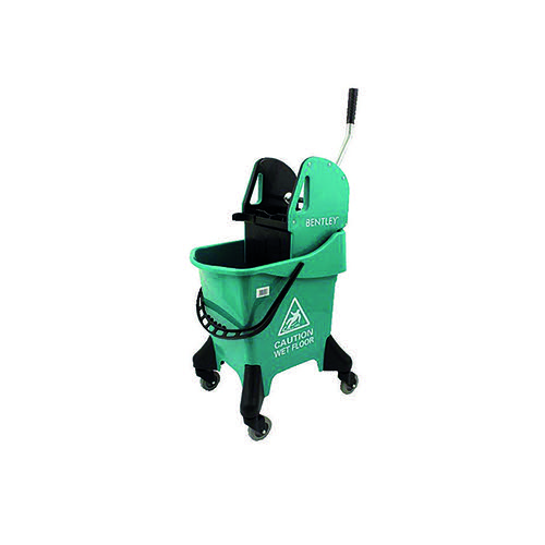 Hygineer Ergonomic Heavy Duty Mop Bucket Green 31 Litre HRMB31/G