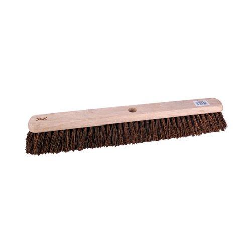 24 Inch Platform Broom with Stiff Bristles and 1400mm Handle 102884