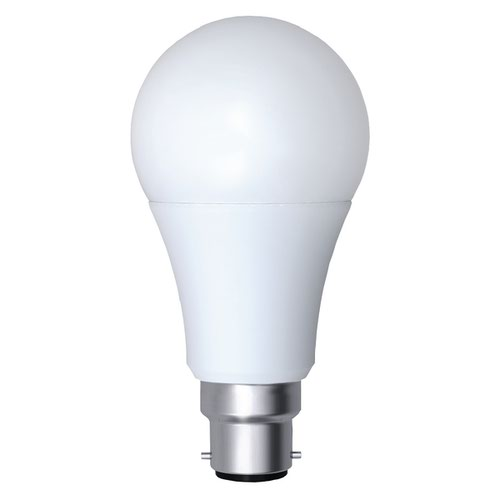CED 12W Opal Dimmable LED Lamp B22 White PBC12WW/DIM