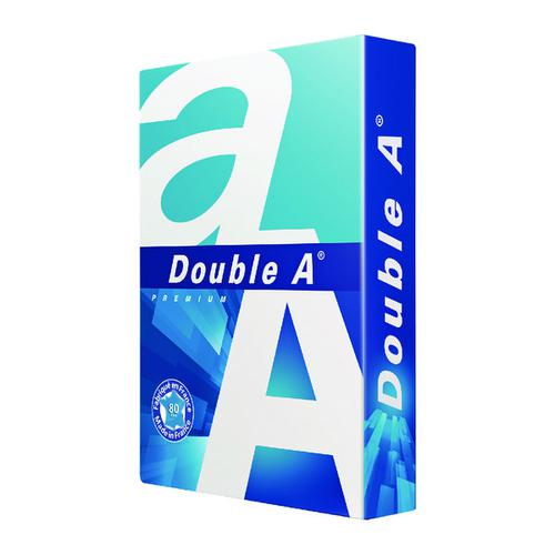 Double A White Premium A3 Paper 80gsm 500 Sheets (Pack of 500) 3613630000134