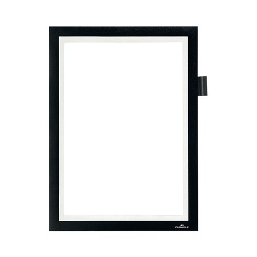 Durable Duraframe Note Magnetic Frame A4 Black 499301