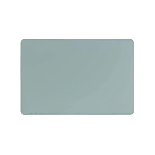 Durable Desk Mat Contoured Edge 530 x 400mm Grey 710210