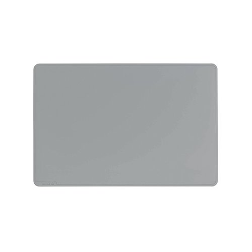 Durable Desk Mat Contoured Edge 650 x 520mm Grey 710310