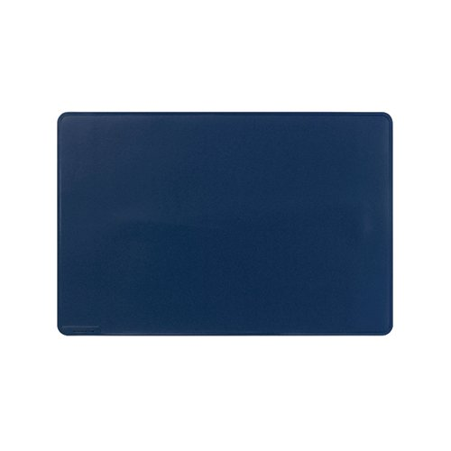 Durable Desk Mat Contoured Edge 530 x 400mm Dark Blue 710207