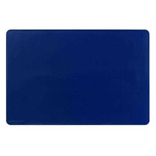 Durable Desk Mat Contoured Edge 650 x 520mm Dark Blue 710307