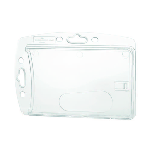 Durable Hardbox For ID Pass Clear (Pack of 10) 890519