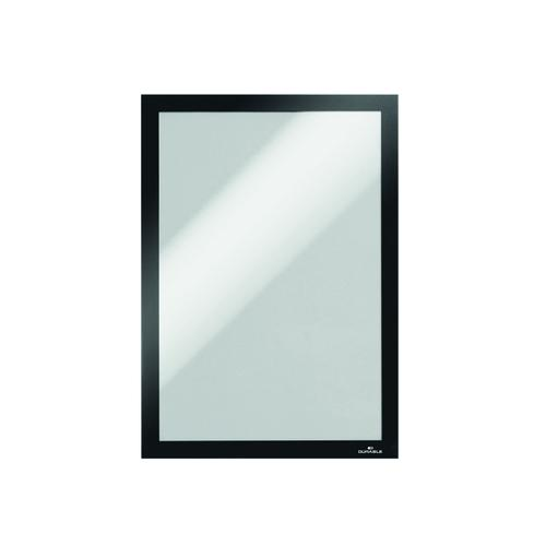 Durable Duraframe Self-Adhesive Frame A4 Black (Pack of 10) 6 For 5