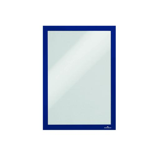 Durable Duraframe Self-Adhesive Frame A4 Blue (Pack of 10) 6 For 5