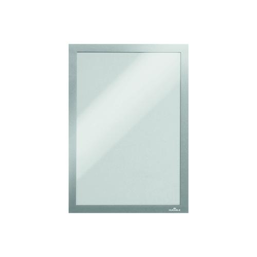 Durable Duraframe Self-Adhesive Frame A4 Silver (Pack of 10) 6 For 5
