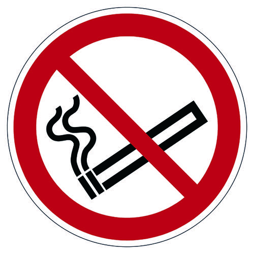 Durable Smoking Prohibited Floor Sign 172803 General Safety Signs DB98328