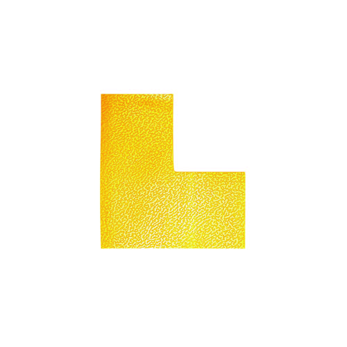 Durable Floor Marking Shape L Yellow (Pack of 10) 170204
