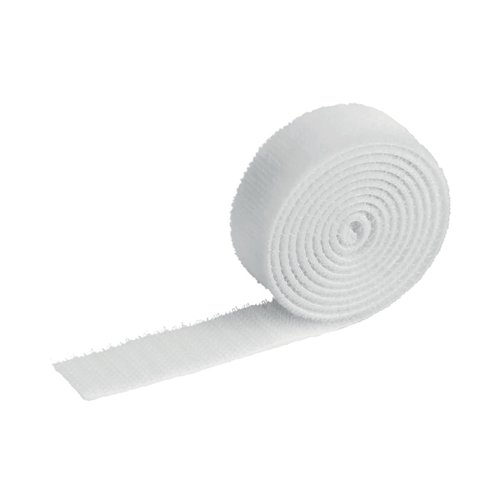 Durable Cavoline Cable Management Grip 20 White 503202