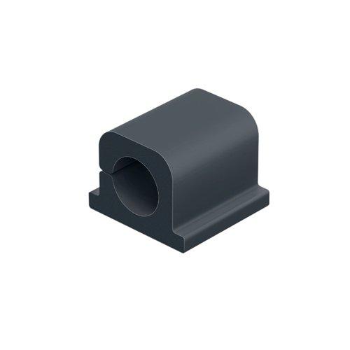Durable Cavoline Cable Management Clip Pro1 Graphite(Pack of 6) 504237