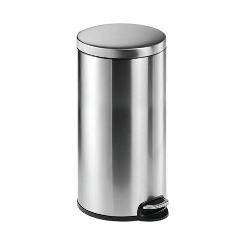 Durable Stainless Steel Fingerproof Coating Soft Release Pedal Bin 30 Litre