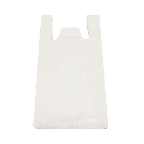 Compare retail prices of High Density Vest Carriers 275X425X525mm 15 Micron White (Pack Of 2000) 403101 to get the best deal online