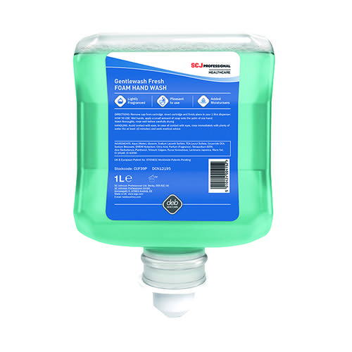 Deb Cutan Gentle Hand Wash Cartridge 1 Litre CUF39P