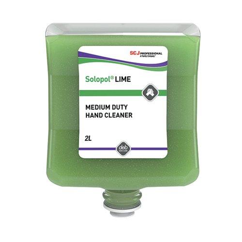 Deb Solopol Lime Wash 2 Litre Cartridge LIM2L