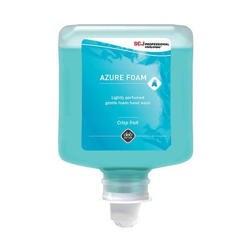 Deb Refresh Azure Foam Wash 1 Litre Cartridge (Pack of 6) AZU1L