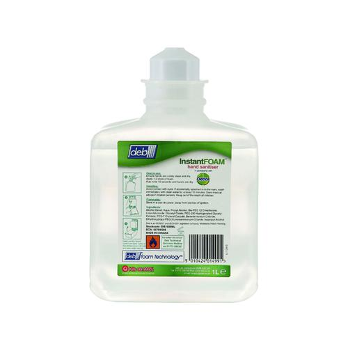 Deb InstantFOAM Complete Cartridge 1 Litre (Pack of 6) DIS1000ML