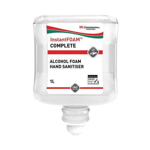 DEB Instant Foam 1 Litre Cartridge Pack of 6 DIS1000ML