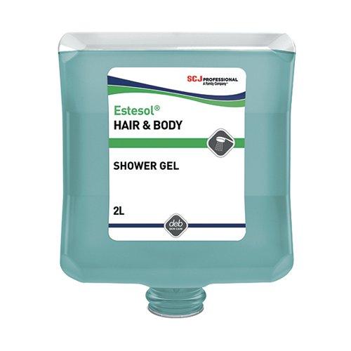 Deb Estesol Hair and Body Wash 2 Litre Cartridge HAB2LT